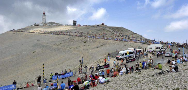 Mont Ventoux meest populaire klim van 2020