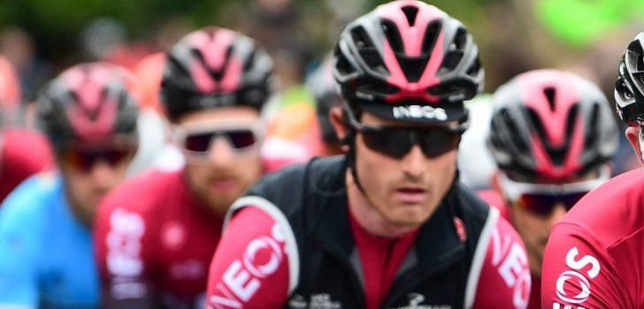 Team Ineos trek haar renners terug uit Italiaans kampioenschap na positieve coronatest