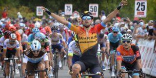 Sonny Colbrelli bezorgt Bahrain McLaren tweede zege van de dag in Route d'Occitanie