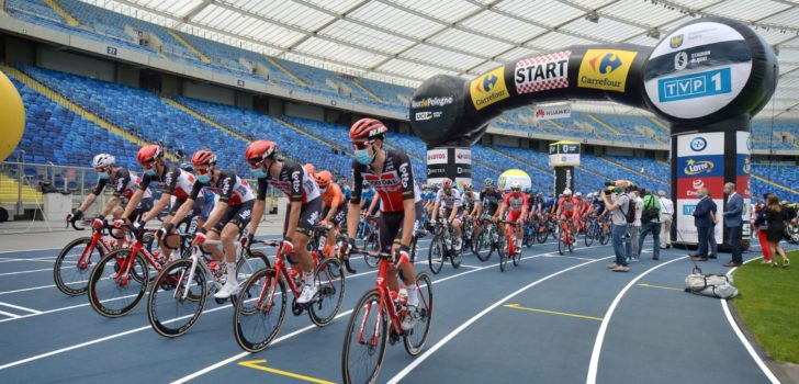 Volg hier de tweede etappe van de Ronde van Polen 2020