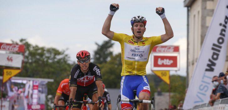 Wallonië: Arnaud Démare wint slotetappe en eindklassement