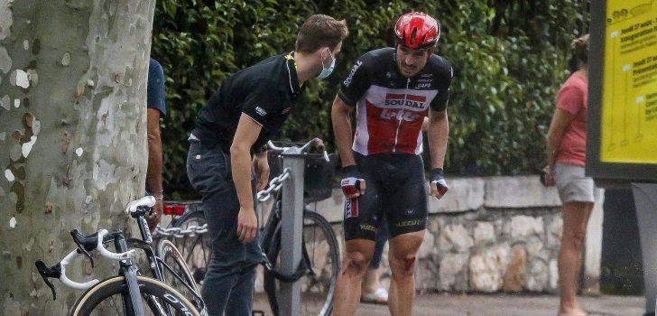 Tour 2020: John Degenkolb haalt tijdslimiet niet