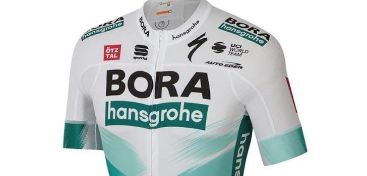 Tour 2020: BORA-hansgrohe in grotendeels wit tenue