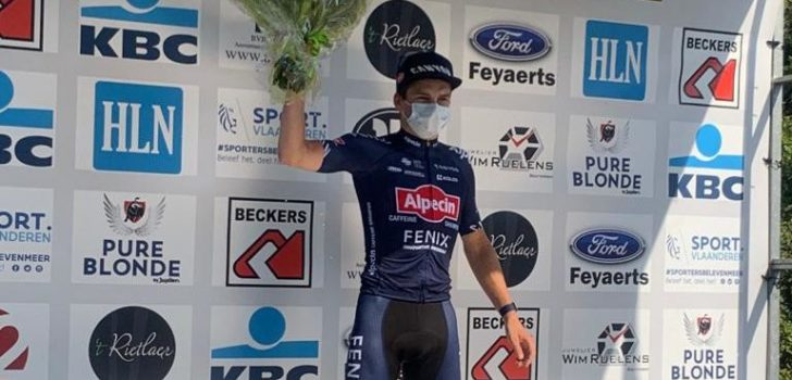 Alpecin-Fenix wint alle ritten Ronde van Vlaams-Brabant, Van der Poel opnieuw de beste