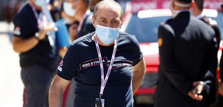 """Giro-directeur Vegni: """"Ploegen gaan niet naar huis bij twee coronagevallen"""""""