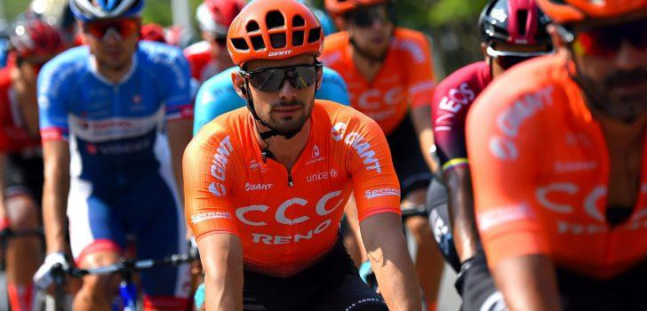 Vuelta 2020: CCC met Mareczko, Hirt en Geschke