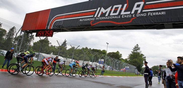 Ingekort WK wielrennen vindt plaats op en rond F1-Circuit van Imola