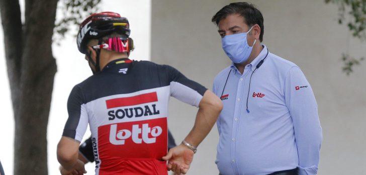 Tien Lotto Soudal-renners krijgen ontslag per aangetekend schrijven