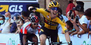 Pascal Eenkhoorn wint heuvelachtige slotrit Coppi e Bartali, eindzege Narvaez