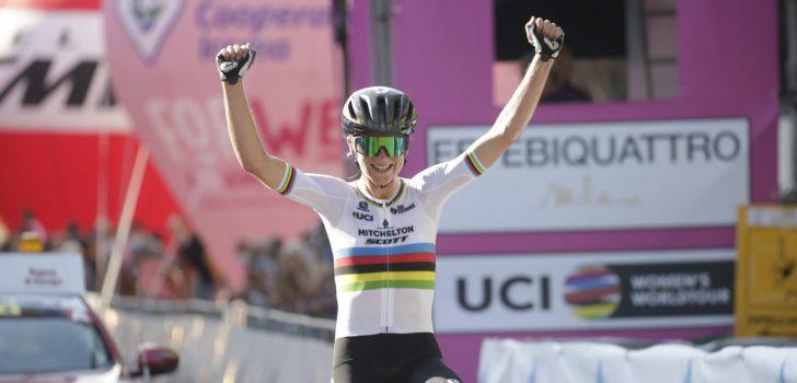 Dubbelslag Annemiek van Vleuten in tweede rit Giro Rosa