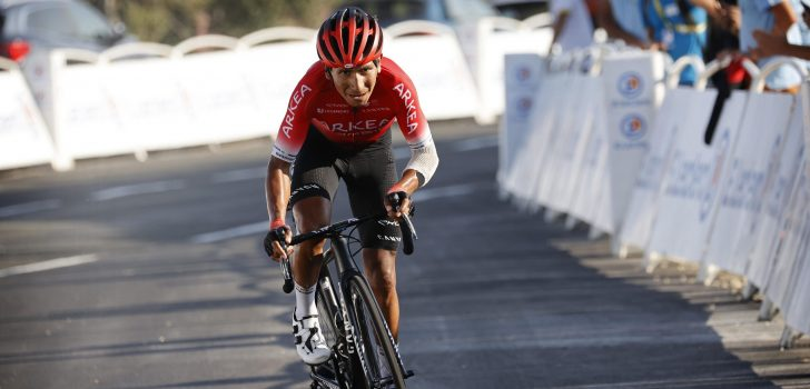 Einde seizoen Nairo Quintana door breukje in knieschijf