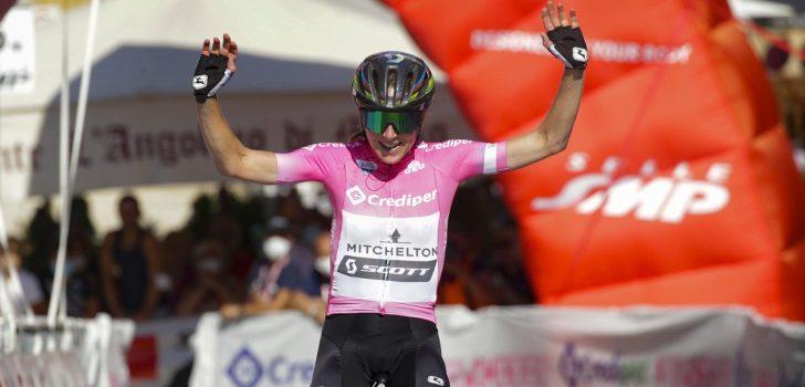Annemiek van Vleuten breidt voorsprong in Giro Rosa uit, ritzege Elizabeth Banks