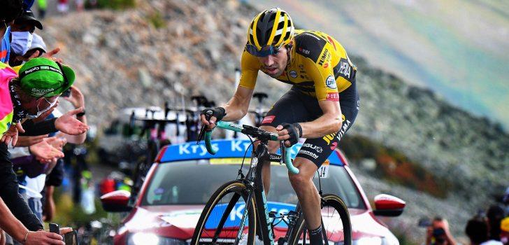 "Tom Dumoulin is enthousiast na Col de la Loze: ""Ik hou hiervan"""