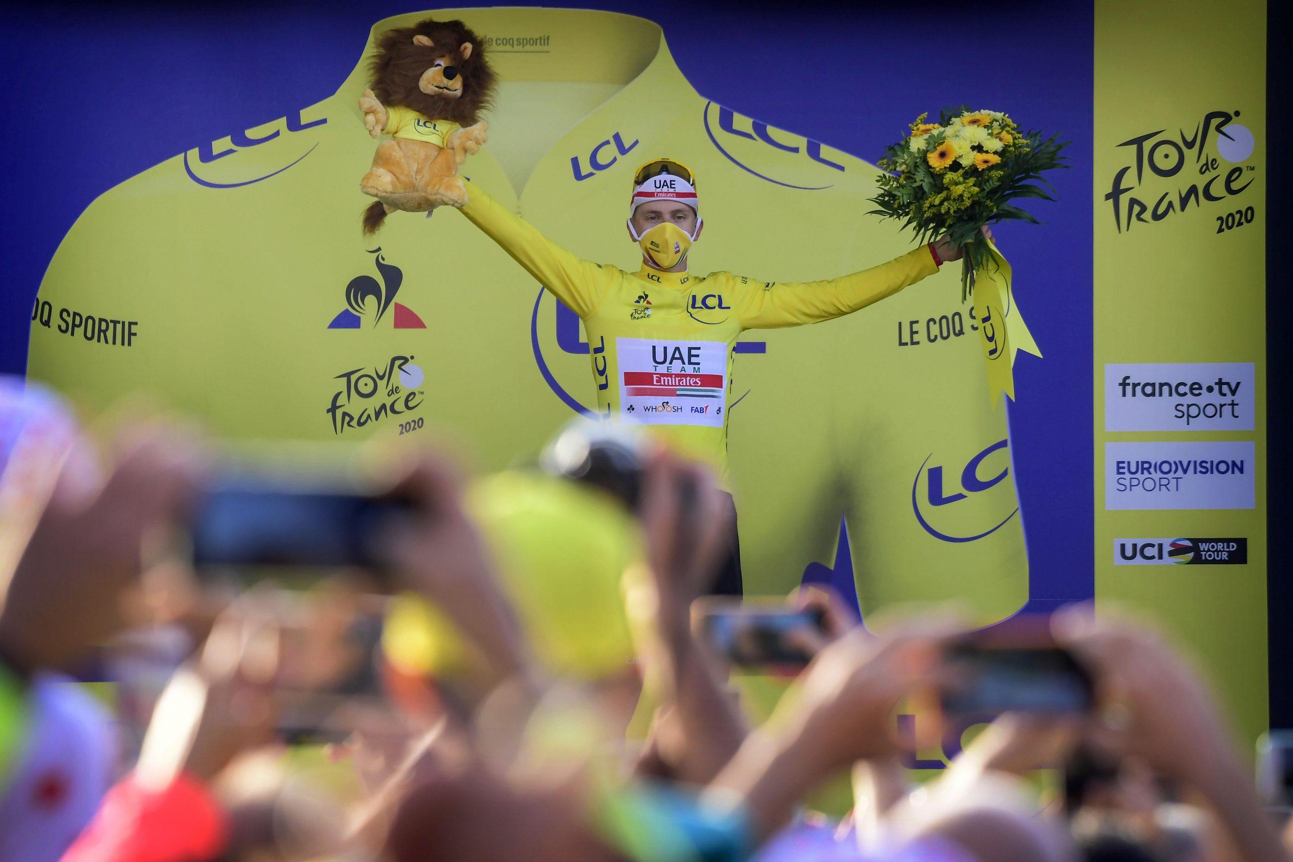 La Planche des Belles Filles - France - wielrennen - cycling - cyclisme - radsport - Tadej Pogacar (Slovenia / UAE Team Emirates) pictured during the 107th Tour de France (2.UWT) Stage 20 from Lure > La Planche des Belles Filles ITT (36,2KM) - photo PdV/PN/Cor Vos © 2020