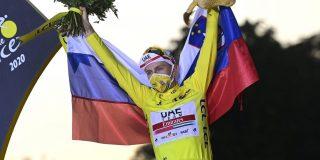 """Tourwinnaar Pogacar: """"Geconcentreerd en fit blijven voor WK en de klassiekers"""""""