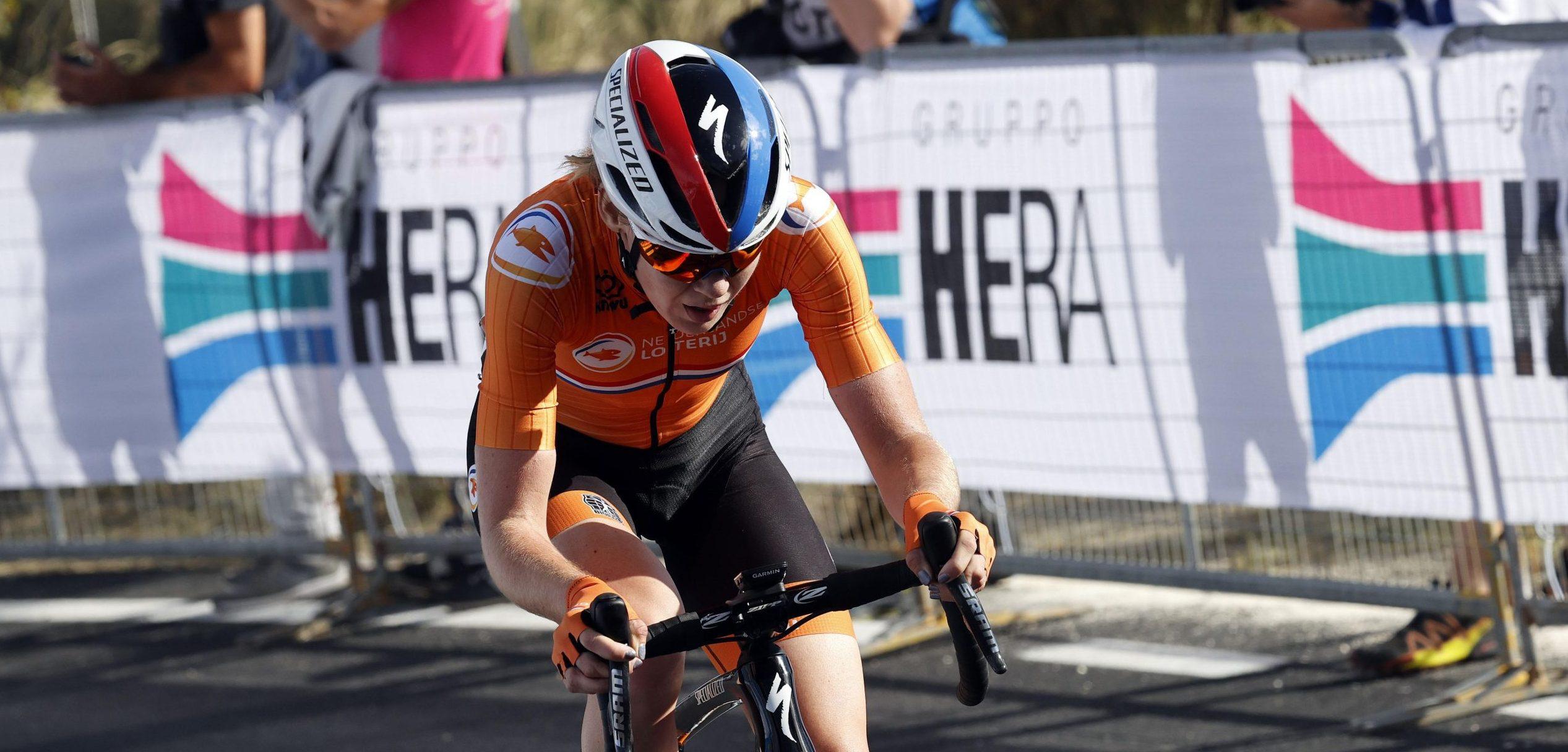 Anna van der Breggen op pad naar de wereldtitel