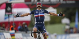 WK 2020: Julian Alaphilippe grijpt wereldtitel in Imola, zilver voor Wout van Aert