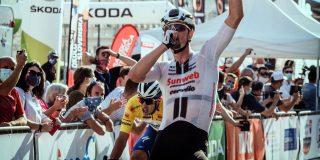 Nico Denz zegeviert namens Team Sunweb in Ronde van Slowakije