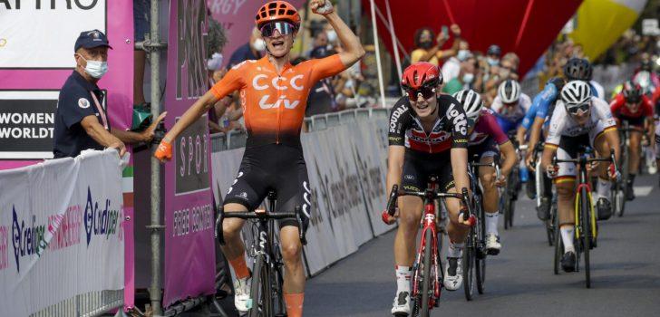 Marianne Vos boekt tweede ritzege in Giro Rosa