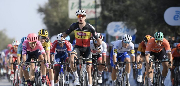 Sprintzege Tim Merlier in Tirreno-Adriatico