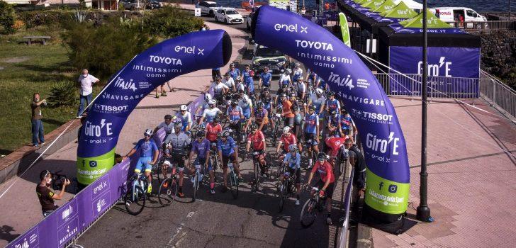 Giro-E afgeblazen na nieuwe coronagevallen