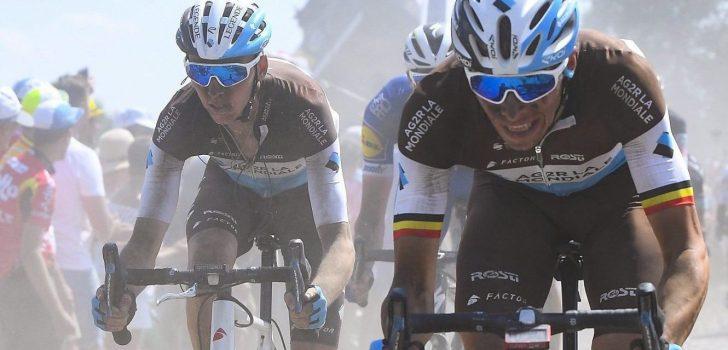 AG2R La Mondiale met Oliver Naesen en Bardet naar Ronde van Vlaanderen
