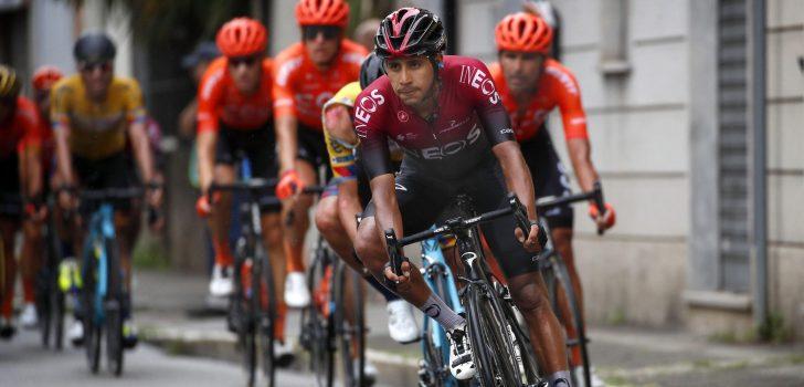 Vuelta 2020: INEOS Grenadiers moet verder zonder Brandon Rivera