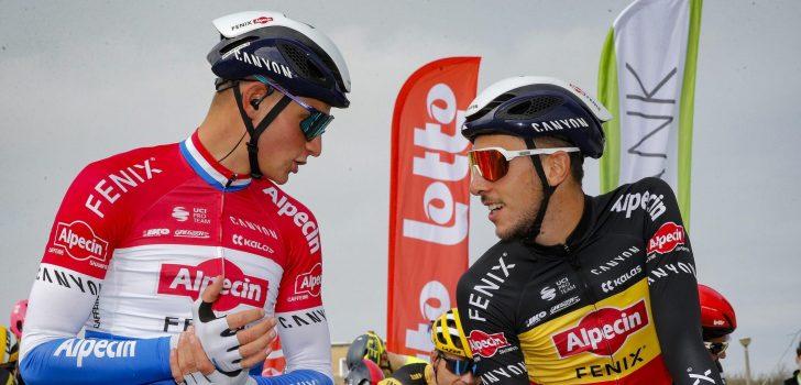 Alpecin-Fenix heeft zevental voor de Ronde van Vlaanderen op papier