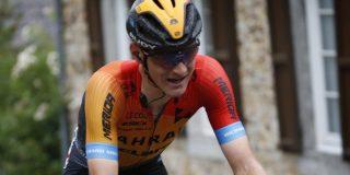 Vuelta 2020: Matej Mohoric naar huis met gebroken schouderblad