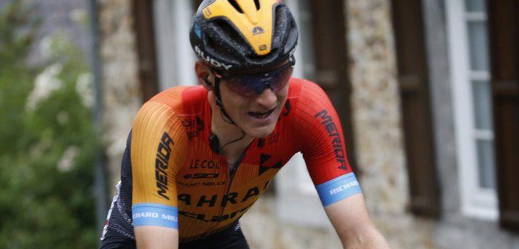 """Mohoric zit weer op de fiets: """"Mijn schouderblessure is volledig genezen"""""""