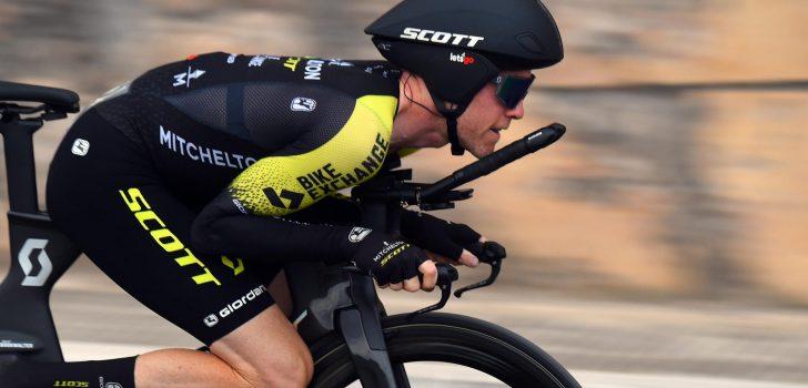 Giro 2020: Breukje in onderrug dwingt Brent Bookwalter tot opgave