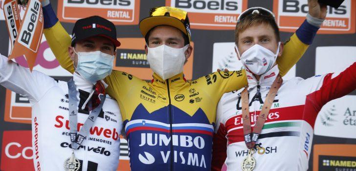 """Gemengde gevoelens bij Pogacar na derde plek: """"Ik sprintte voor de winst in Luik"""""""