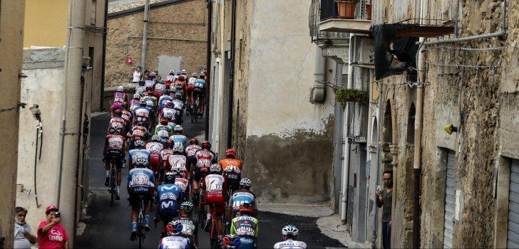 Giro 2020: Hekwerk waait om, Van Empel en Wackermann komen ten val