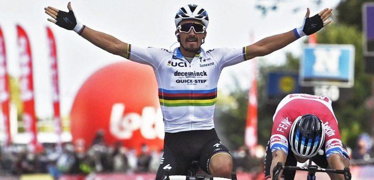 Deceuninck-Quick-Step met debutant Alaphilippe in Ronde van Vlaanderen