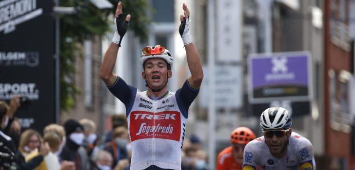 Mads Pedersen wint herfsteditie Gent-Wevelgem