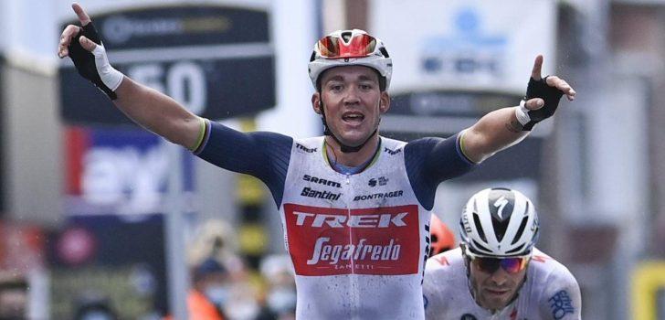 """Mads Pedersen denkt na over groene trui in de Tour: """"Zou ik graag aan mijn muur hebben"""""""