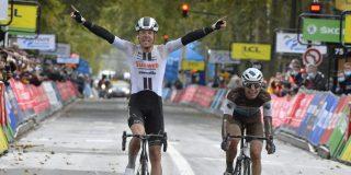 Casper Pedersen verslaat Cosnefroy in Parijs-Tours, Nieuwenhuis derde