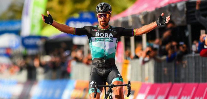 Giro 2020: Imponerende Sagan boekt verlossende zege na spectaculaire etappe
