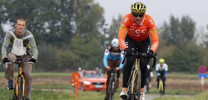 Greg Van Avermaet verkent Ronde van Vlaanderen
