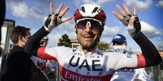 Diego Ulissi bekroont ploegenspel UAE Emirates in koninginnenrit Ronde van Slovenië