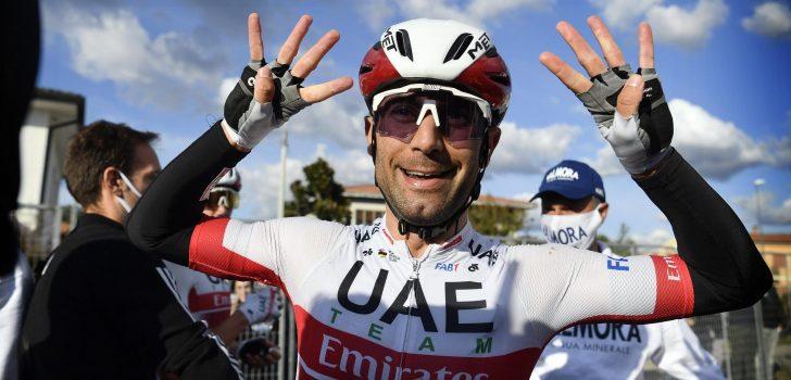 """Diego Ulissi: """"Had niet verwacht twee etappes te winnen deze Giro"""""""