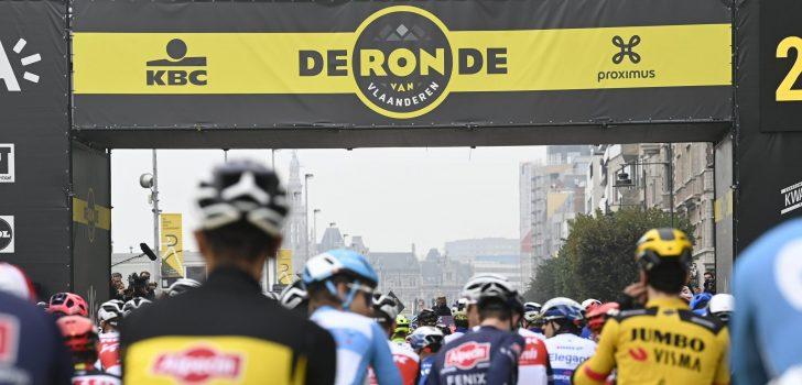 Flanders Classics denkt niet aan afgelasting Ronde van Vlaanderen