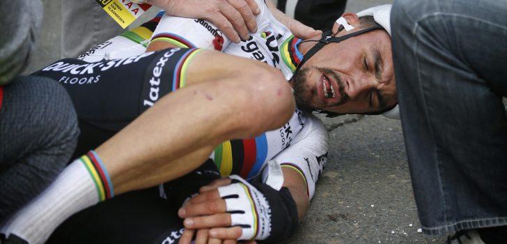 """Ronde-motard krijgt excuses van Evenepoel: """"Dat deed me plezier"""""""
