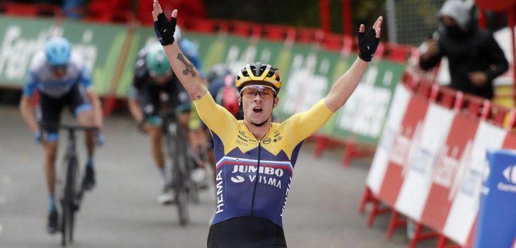 Vuelta 2020: Roglic zegeviert in openingsetappe, Dumoulin verliest tijd