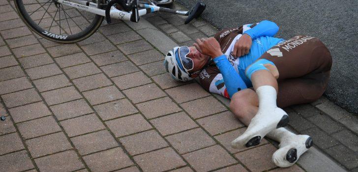 Silvan Dillier breekt sleutelbeen bij val in Brugge-De Panne