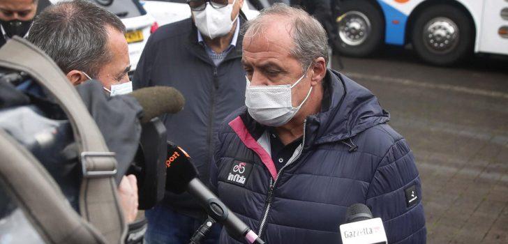 """Giro-baas Vegni haalt uit na protest renners: """"Iemand zal hiervoor moeten opdraaien"""""""