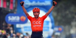 Giro 2020: Victor Campenaerts tweede in ingekorte etappe naar Asti, ritzege voor Josef Cerny