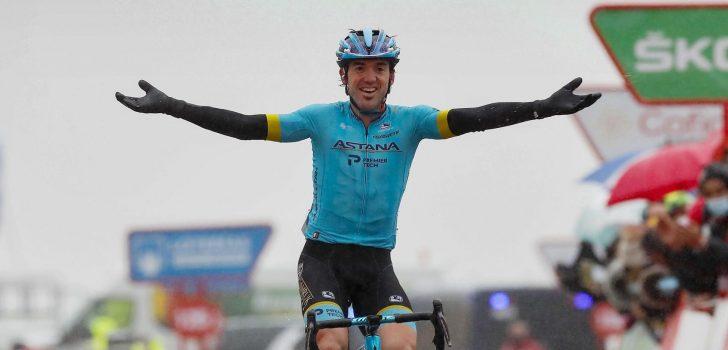 Vuelta 2020: Ion Izagirre sterkste klimmer op Aramón Formigal, Roglic verliest rode trui