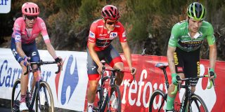 Hugh Carthy wil nog niet praten over podium in Vuelta