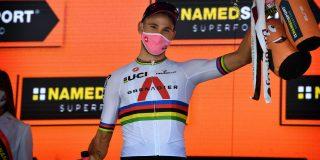Filippo Ganna test nog altijd positief op corona, twee weken na besmetting
